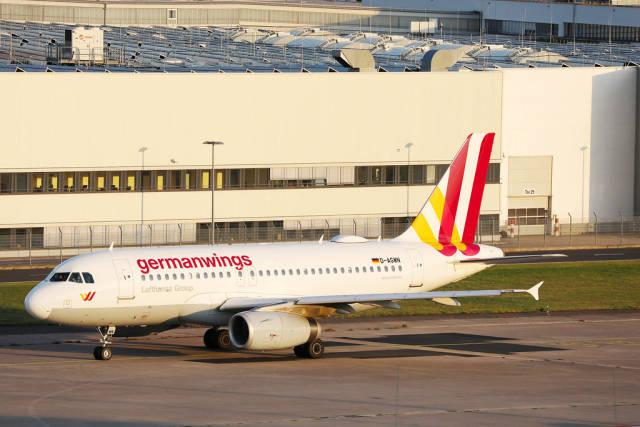 Germanwings Airbus A319, D-AGWN in Cologne Bonn Airport, CGN