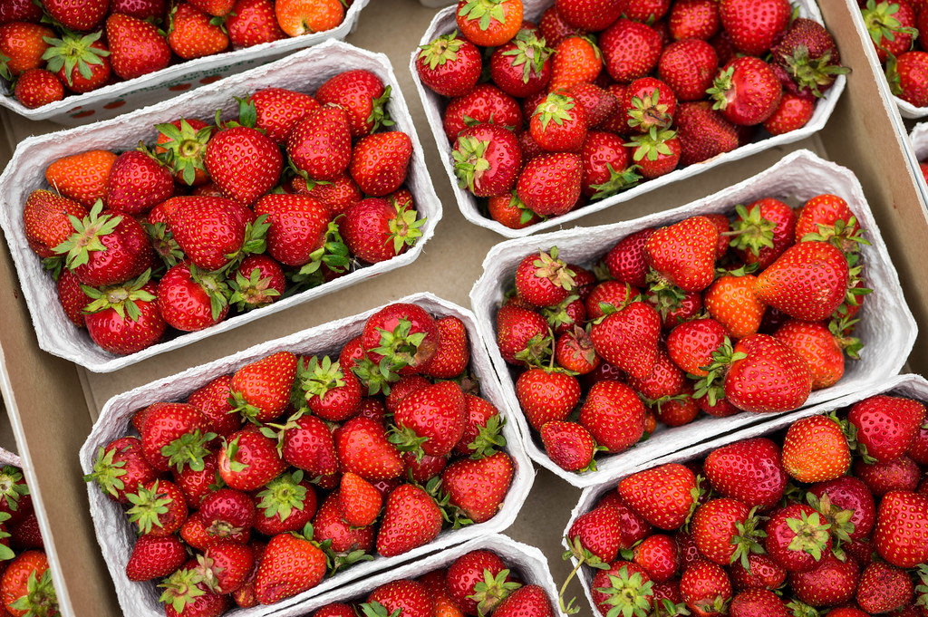 Strawberry boxes for sale