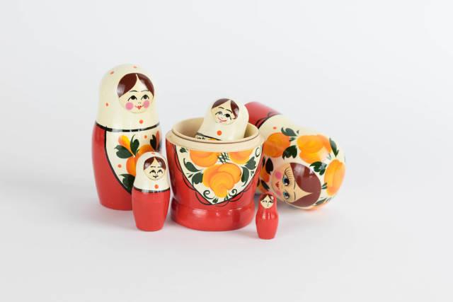 Matryoshka Russian Dolls