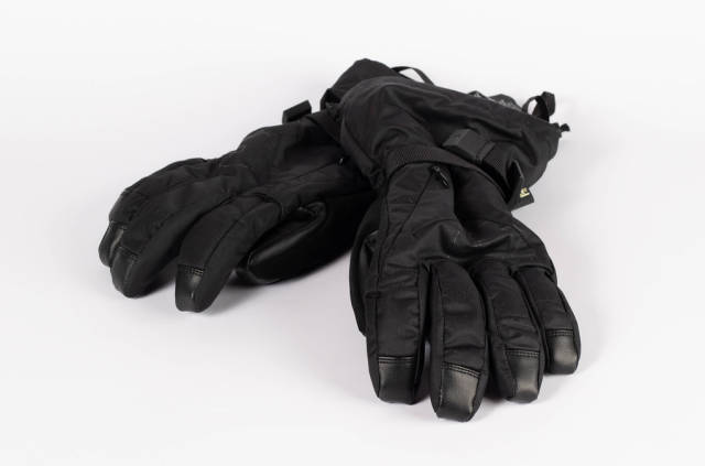 Winter gloves isolated on white