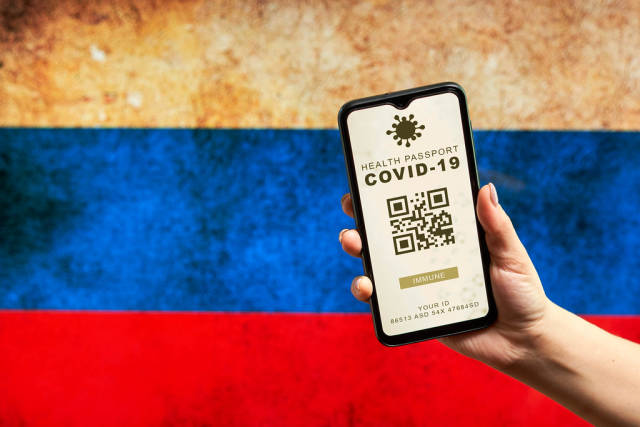 Russia rolling out Covid-19 digital ID