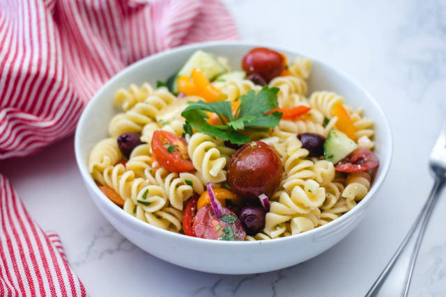 Italian Pasta salad with Vegetables
