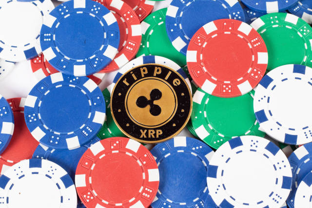 Casino chips and Ripple cryptocurrency
