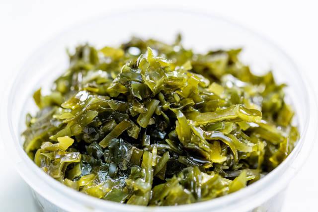 marinated sea kale