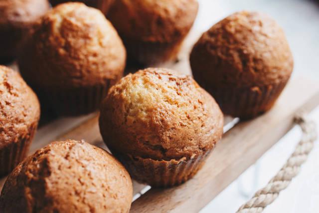 Nahaufnahme von hausgemachten Muffins