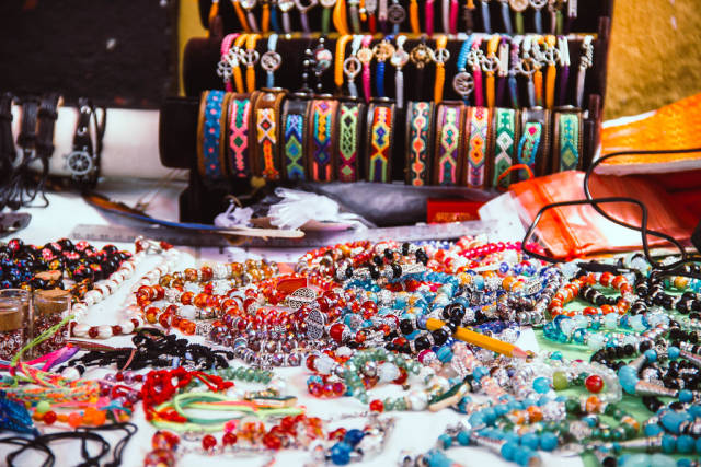Typical Bracelets and Necklaces from Honduras