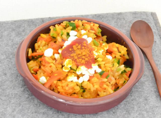 Reis-Gemüse-Pilaw