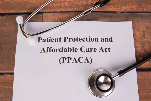 Patient Protection and Affordable Care Act with stethoscope