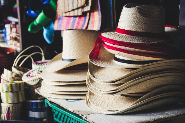 Straw Hats for Sales