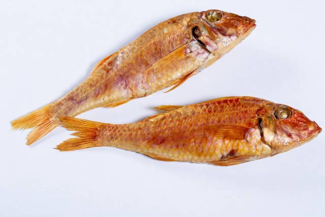 Smoked fish surmullet