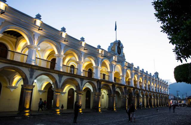 Interesting architecture in Antigua, Guatemala
