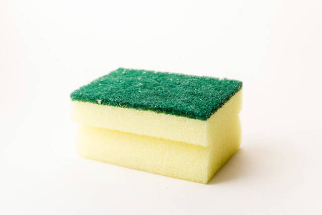 Yellow Washing Sponge