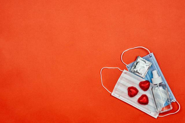 Celebrating Saint Valentines Day in lockdown