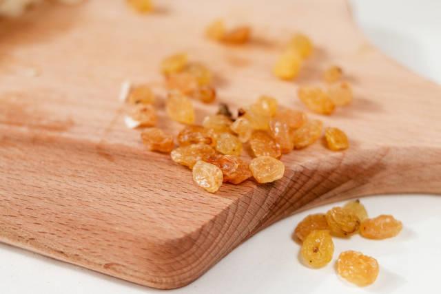 Raisins closeup