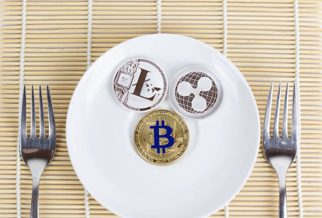 Crypto currencies with forks
