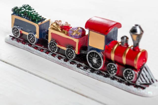Christmas train-home decoration