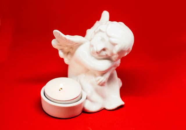 Angel Candle Decoration