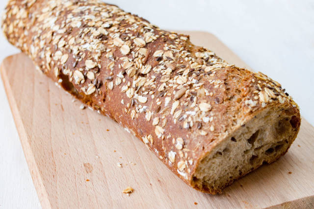 Healthy Bread With Seeds