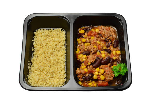 Chili con carne with millet