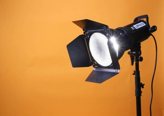 Photo studio strobe flash