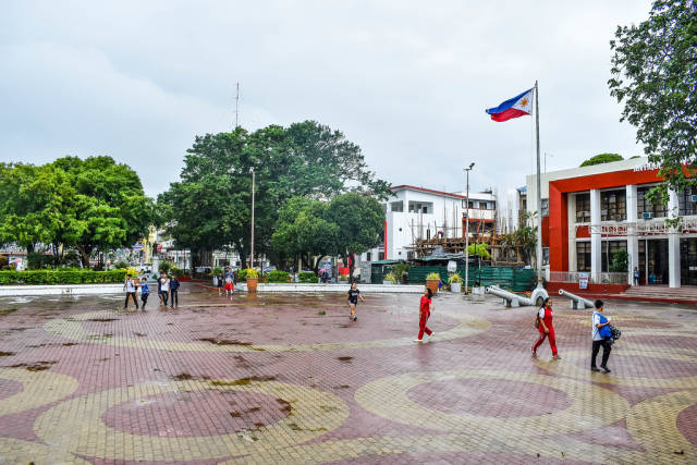 Public plaza of San Jose, Antique