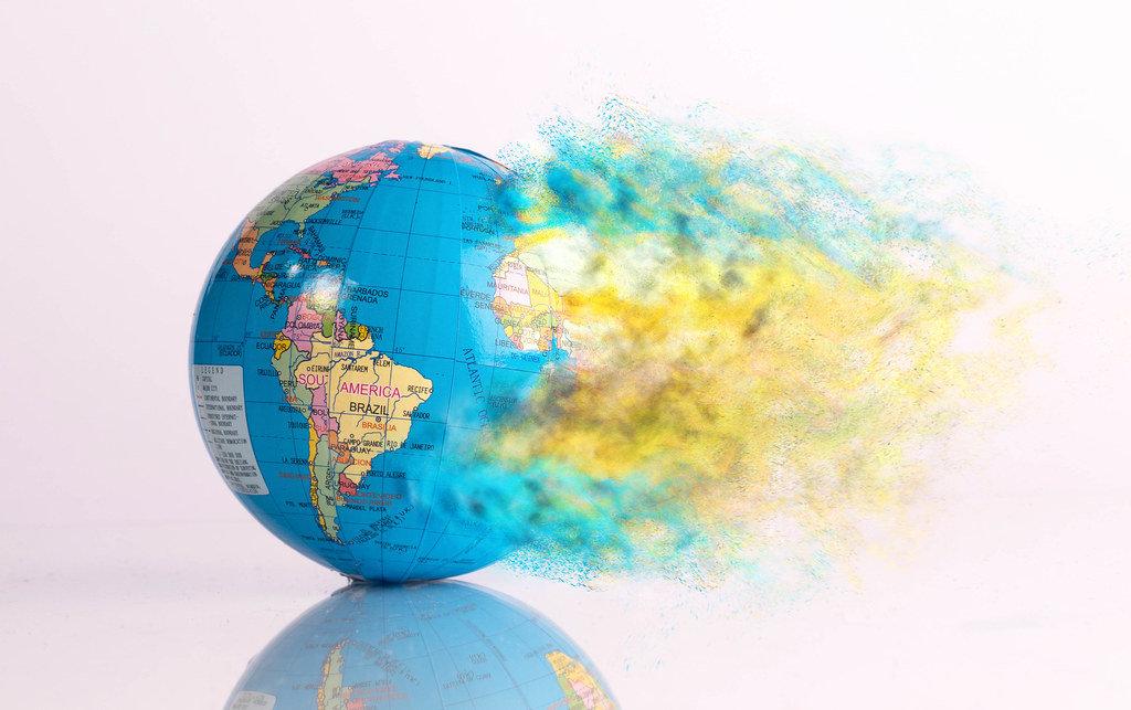 Konzept-Bild zeigt Klimawandel