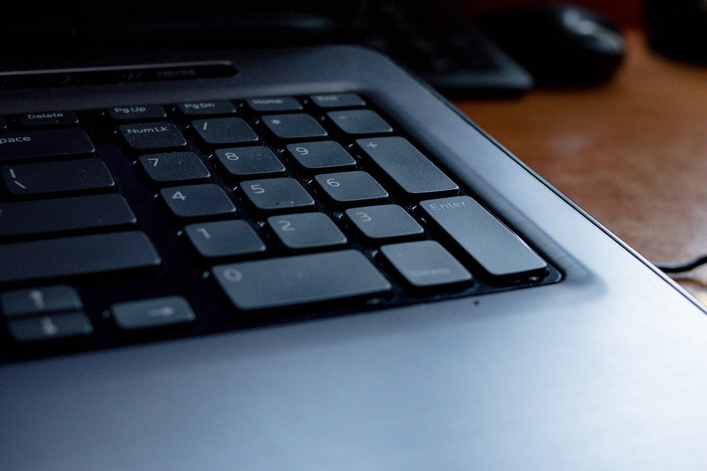 Keyboard of a computer