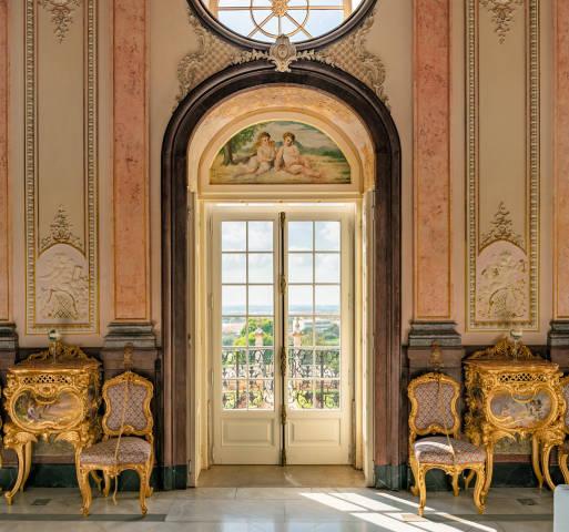 Pousada Palácio Estói interior