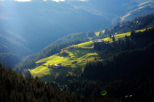Tyrol landscape, Austrian mountains