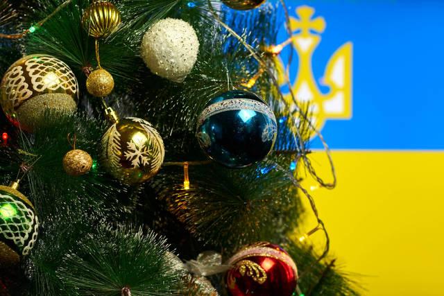 Christmas holidays in Ukraine