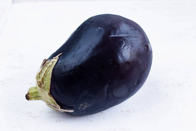 Fresh eggplant / Aubergine