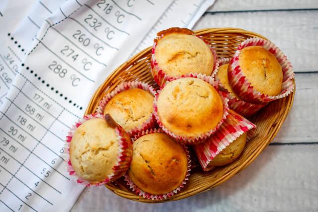 Goldbraune Muffins