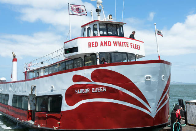 RED AND WHITE FLEET ferry