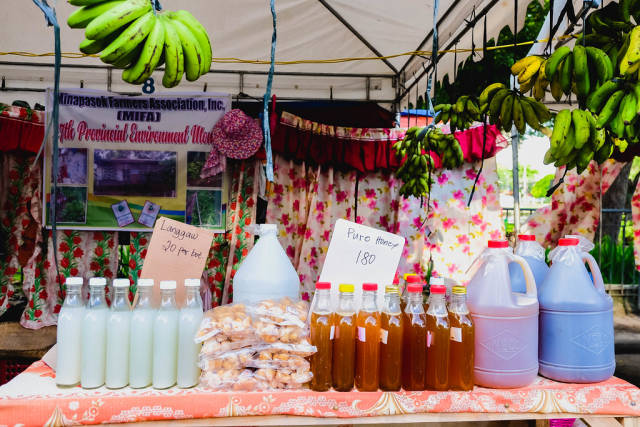 Freshly made products from local farmers