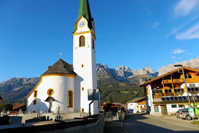 Ellmau church, Erzengel Michael