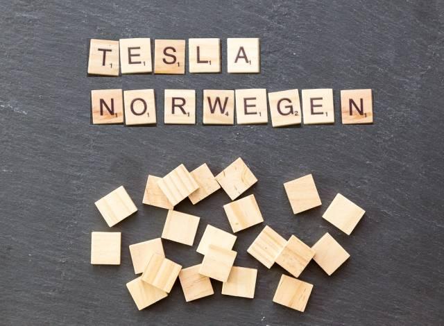 Tesla Supercharger in Norwegen