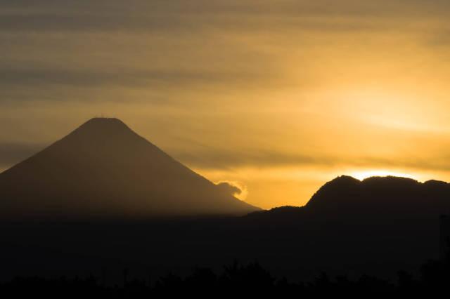 Volcan de Agua (famous volcano in Guatemala)