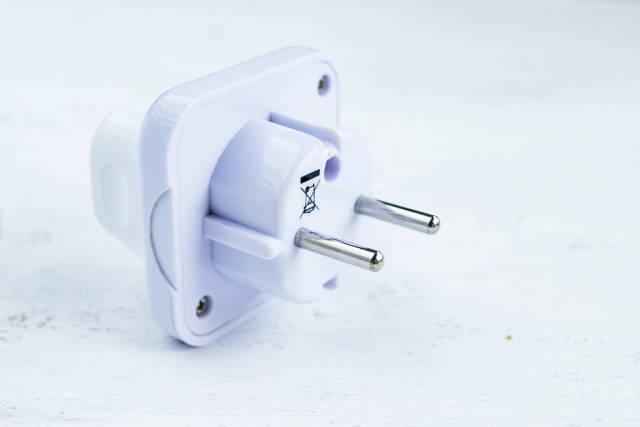 White Power Plug / Steckdosen