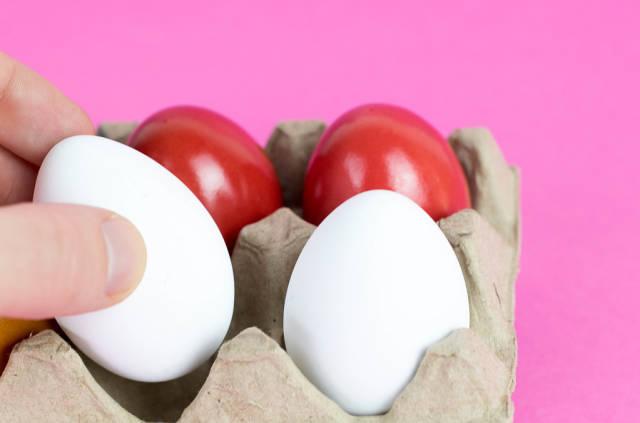 Eier auswählen