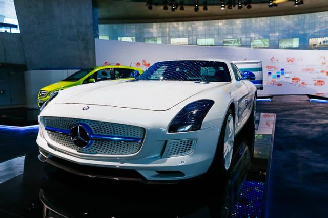 Concept car of Electric Mercedes-Benz SLS