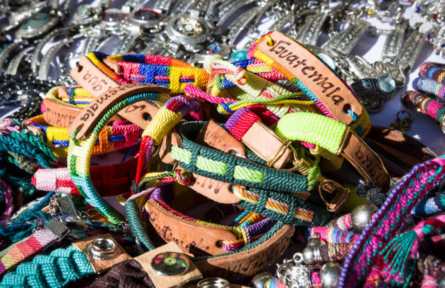 Guatemala souvenier bracelets