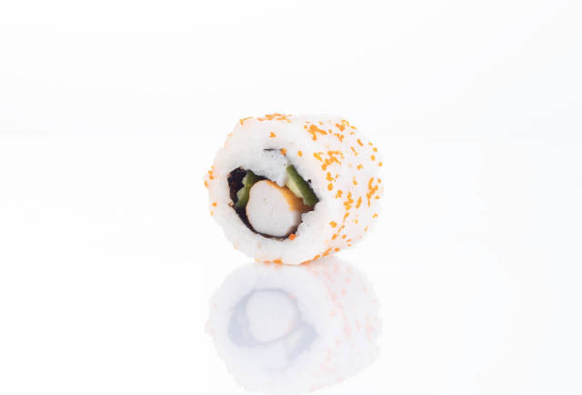 Delicious sushi roll