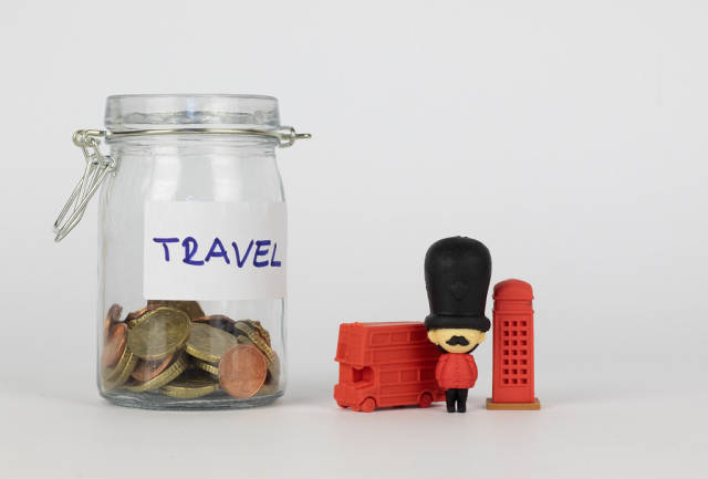 Savings for travel to London