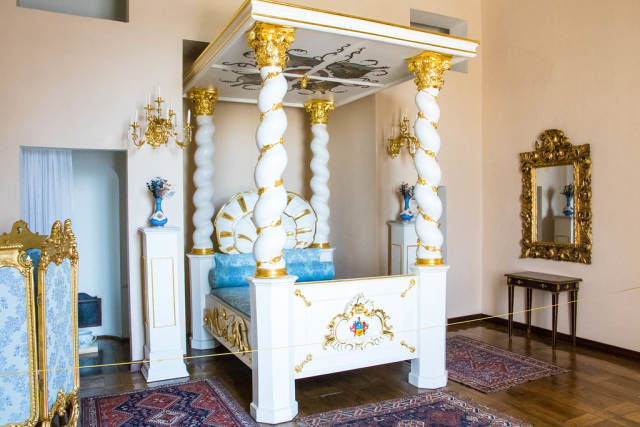 Bed in Austerlitz palace