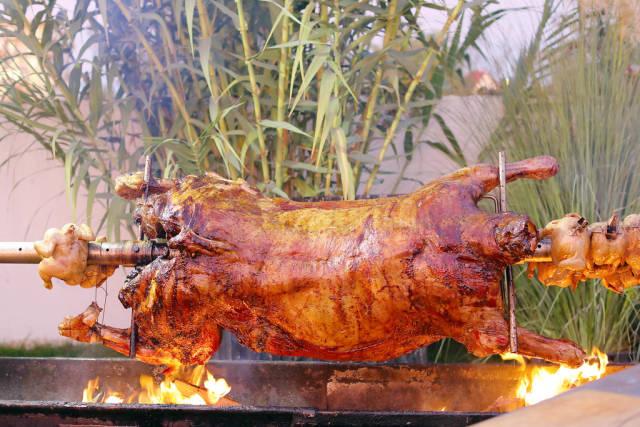 Barbecue Lamb