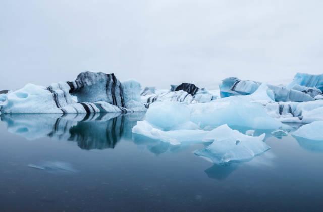 Eisberg in Island