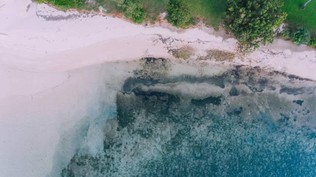 White sandy beach of Punta Bulata