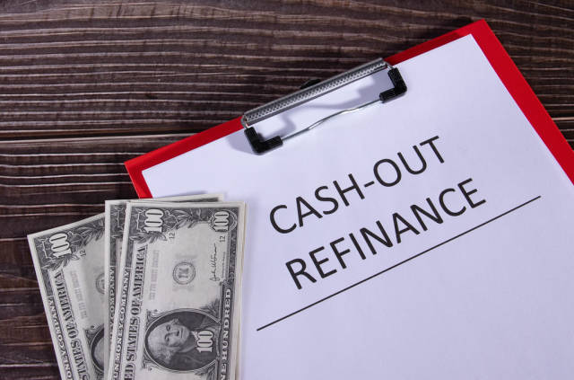 Cash out refinance documents