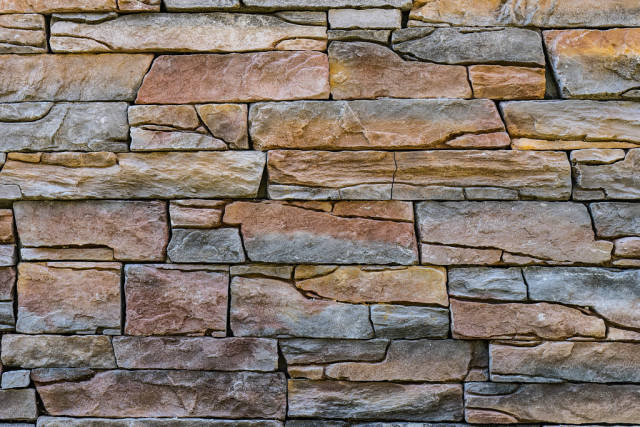 Full Frame of the Stone Wall