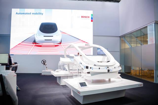Innovative Fahrerassistenzsysteme mit teil- und hochautomatisierten Funktionen von Bosch
